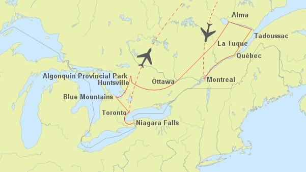 Montreal Altstadt Karte.Ihre Rundreise Durch Kanada Vom Experten Fur Kanada Reisen